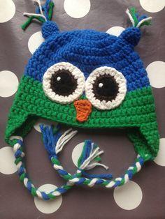 Owl hat Jippe ~ made by VanSjoukje© ~ uil ~ muts ~ haken ~ crochet