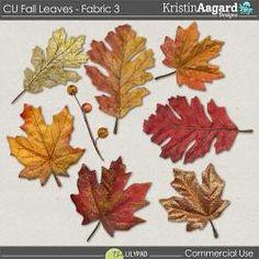 CU Fall Leaves - Fabric 3
