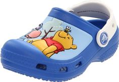 Crocs Creative Winnie & Eeyore Clog (Toddler/Little Kid/Big Kid) crocs. $21.68. Slip-resistant and non-marking soles. Lightweight, it's like they're not even there. Manmade. Comfortable clog style shoes. Manmade sole. Special Winnie the Pooh and Eeyore design. Odor resistant, keeps feet fresh