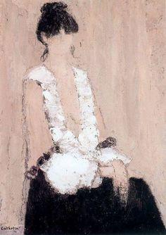 Bernard Cathelin 1919-2004 | French painter Matisse, Modern Art, Contemporary Art, Artist Profile, Portrait Art, Portrait Paintings, French Art, Surreal Art, Figure Painting