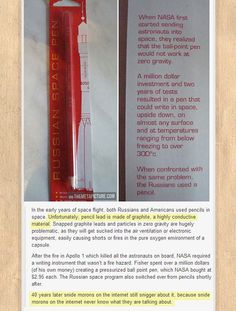 NASA vs. Russia