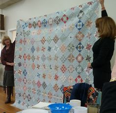 Sandra Boyle quilt Dorothy's threads of life: Saturday at Castlemaine