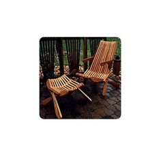 Buy Woodworking Project Paper Plan to Build Smooth Folding Lawn Chair at Woodcraft.com