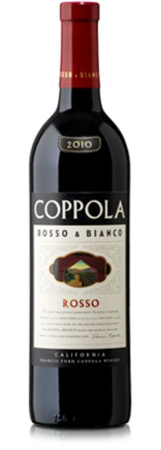 Francis Ford Coppola Rosso ($12) is another great table wine—not to mention a super affordable option! The blend of Syrah, Zinfandel and Cabernet Sauvignon is ideal for entertaining.