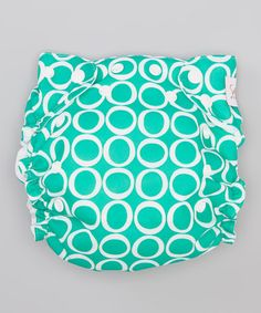 Such a cute diaper -- great price on Zulily right now, just $14.99 Teal Time Pocket Diaper by Smitten Baby. #zulilyfinds