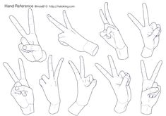 Illustration materials for the hand-hand reference Hand Drawing Reference, Anatomy Reference, Art Reference Poses, Drawing Techniques, Drawing Tips, Cute Drawings Of Love, Poses References, Hand Sketch, Drawing Base
