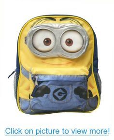 Despicable Me 2 - 12 Minion Backpack #Despicable #Minion #Backpack