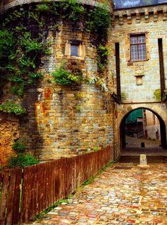 European Castle Backdrop - 2741