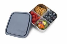 U Konserve Stainless Steel Containers, Stainless Steel Lunch Box, Bento Box Traditional, Healthy School Lunches, Salad Bar, Portion Control, Food Storage Containers, Picky Eaters, Main Meals