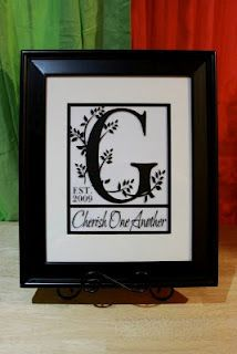 Craft Surfing: Crafts from my past Frame Crafts, Fun Crafts, Arts And Crafts, Paper Crafts, Letter Crafts, Weeding Gift Ideas, Bridal Gifts, Wedding Gifts, Memory Crafts