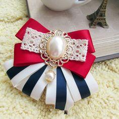 Korea Cloth brooch Bows (Disc brooch) NHYY0002-Disc brooch