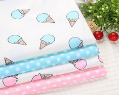 Twill Two color Ice cream Cotton Fabric for Home Textile Bedding Quilting sewing Dolphin Patchwork fabric Patchwork Fabric, Home Textile, Sewing Crafts, Cotton Fabric, Ice Cream, Quilts, Free Shipping, Bedding, Color
