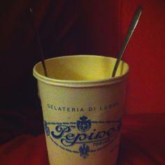Mezzolitro Pepino - The Best Ice Cream ever.
