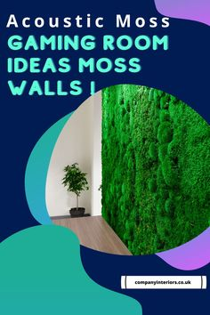 Moss walls are made from preserved mosses that require no maintenance, daylight or watering. They are one of the best sounds absorbing materials and also a totally natural product. The Bun Moss comes from Scandinavia and is A Grade Quality for Interior Design Projects and now available on a next day delivery. Get started with your moss project today!#mosswalls #mosswalls🌿 #mosswallsupplier #preservedmosswall #mosswallart #acoustics Money Tree Bonsai, Garden Home Office, Moss Letters, Design Projects, Design Ideas, Moss Decor, Ivy Wall, Moss Art, Hotel Reception