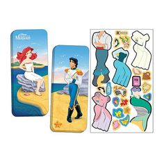 "Disney Princess Magnetic Paper Doll - Little Mermaid - Lee Publications - Toys ""R"" Us"