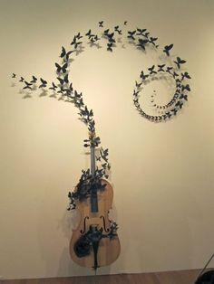 Butterflies and Birds Sculptures by Paul Villinski--Ever since I saw his work on Gossip Girl I have loved him!