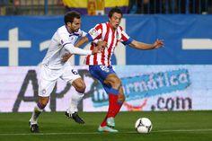 El canterano debutó como titular en el Calderón con la rojiblanca y lo hizo con victoria por 1-0 ante el Real Jaén (28/11/12).