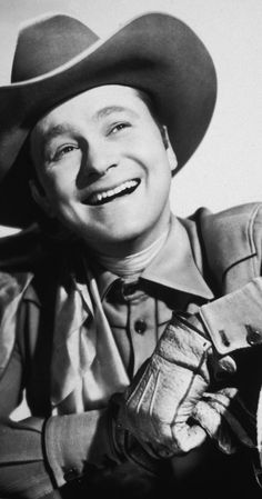 """Tex Ritter, Soundtrack: High Noon. Singing-cowboy star of """"B"""" westerns during the 30's and 40's and later country-music recording star."""