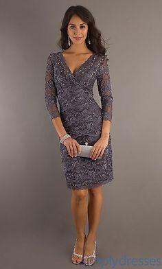 Grey lace. Love it!