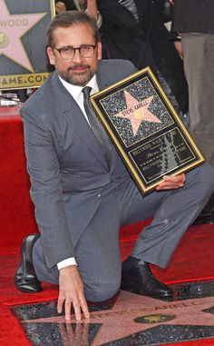 Steve Carell from The Big Picture: Today's Hot Pics  The Big Short star gets his star on the Hollywood Walk of Fame.