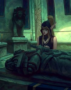 World Of Warcraft 3, World Of Warcraft Characters, Warcraft Art, Fantasy Characters, Varian Wrynn, World Of Warcraft Wallpaper, Dragons, Sylvanas Windrunner, Blood Elf