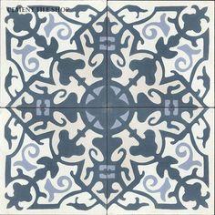Cement Tile Shop - Encaustic Cement Tile Madrid Navy