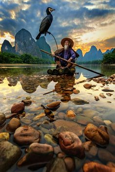 Cormorant fisherman by Duangmon - Image Of The Month Photo Contest Vol 15