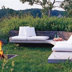 firepit - I noticed you have a fire pit and I just love this one so I thought I would pass it along in case you wanted to do something closer to the water