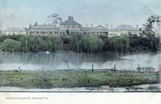 Parramatta District Hospital (year unknown).A♥W