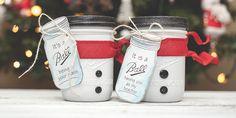 Disfraces que puede usar tu Mason Jar esta navidad