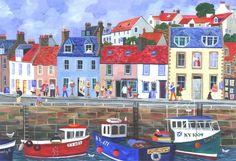 Jennifer Thomson - Artist Pittenweem Harbour