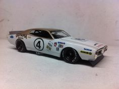 Dodge Charger that was raced at Le mans in 1976.