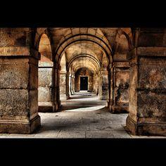Madrid - San Lorenzo de El Escorial. Inspirerede dystert!