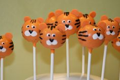 tiger Cake Pops | Natalie's Cake Pops: What's New in Natalie's Kitchen