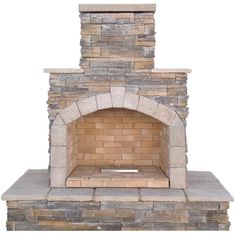 Shop for 78-inch Brown Natural Stone Propane Gas Outdoor Fireplace. Get free delivery at Overstock.com - Your Online Garden