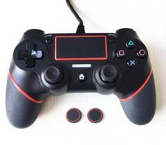 Для PS4 контроллер 1.5 м проводной геймпад для Playstation 4 DualShock 4 джойстик Manette de Jeu несколько вибрации 6 ответствующее для PS4 консоли