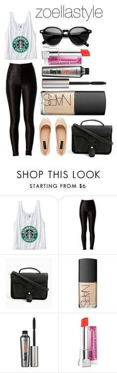 """""""Untitled #60"""" by zoellastyle ❤ liked on Polyvore featuring NARS Cosmetics, Benefit, INDIE HAIR, starbucks and Zoella"""