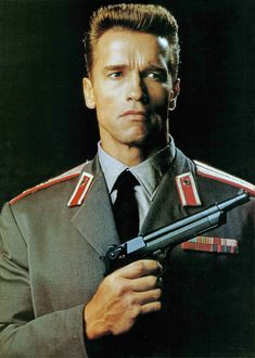 Red Heat (1988) Arnold Schwarzenegger Capt. Ivan Danko