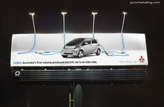 Electric Car...Mitsubishi Ads