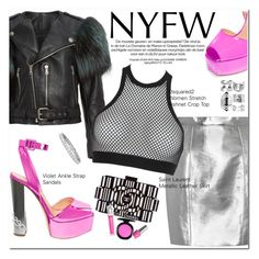 """""""What to Pack: NYFW"""" by oshint ❤ liked on Polyvore featuring Marc Jacobs, Yves Saint Laurent, Dsquared2, Chanel, Christian Dior, MAC Cosmetics, OPI, Boohoo, shoes and fsjshoes"""