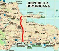 The Best Dominican Republic map dont look any further Here youll