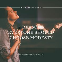 4 Reasons Everyone Should Choose Modesty https://bouncedeals.com/collections/christianity