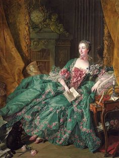 Last week we looked at Louis XIV's over-the-top Baroque style — so this week let's look at the exuberant curves and graceful sensuality of the Louis XV style, also known as Rococo