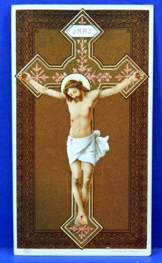 Crucifix Crucified Jesus Religious Art by QueeniesCollectibles, $9.99