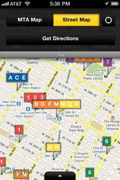 NYC Mate - Pins sur map