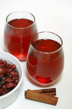 Cranberry Apple Cider   Healthy Holiday Recipe