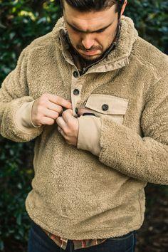 Kodiak Fleece Pullover - Grizzly Tan