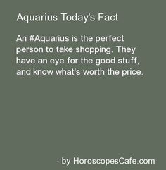 Aquarius Daily Fun Fact