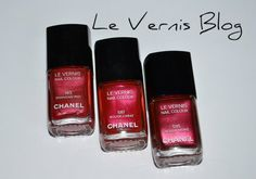 chanel red nail