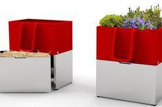 L'Uritrottoir, un urinoir écolo pour des rues propres et fleuries ! Uritrottoir - Street Urinal - Vespasienne écologique - design by Faltazi - lesekovores.com - Nantes - contact@faltazi.com - www.uritrottoir.com